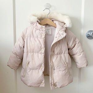 Zara Baby Girl Puffy Jacket 18-24 months